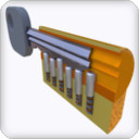 "View 3D model ""Lock mechanism"""